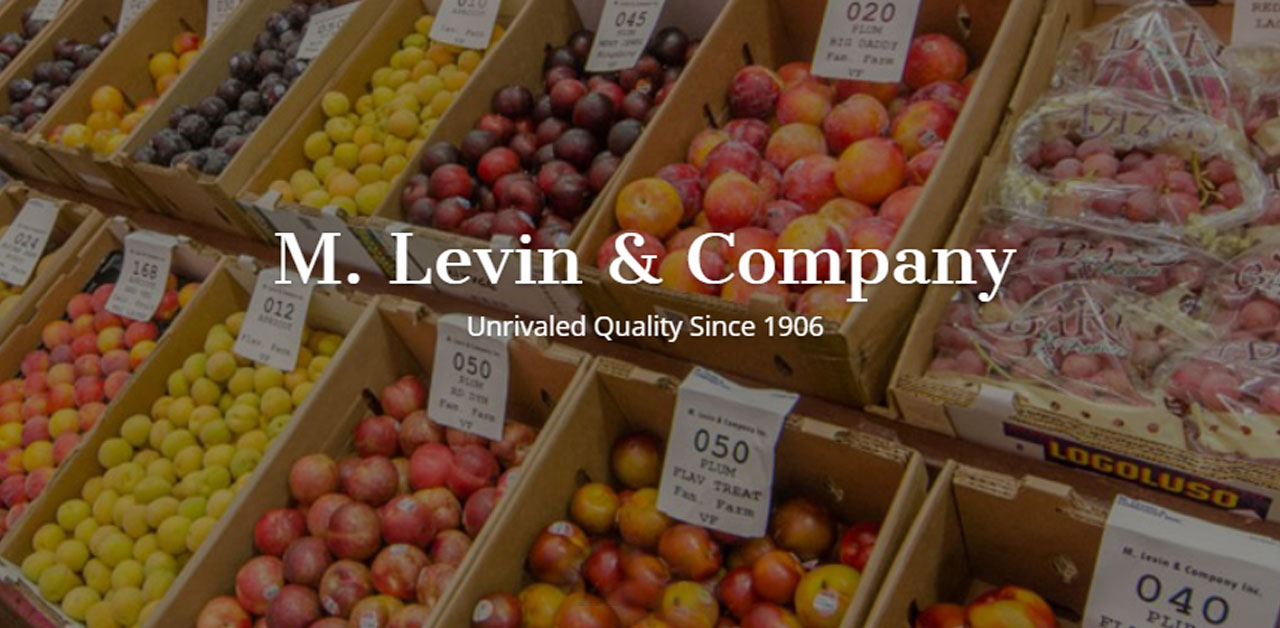 Fresh Wholesale Produce from the Philadelphia Area | M  Levin & Company